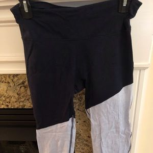 Navy blue gap workout pants